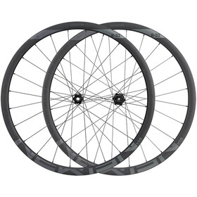 NEWMEN Evolution SL R.32 Rear Wheel 12x142mm CL Shimano Gen2 black anodised/grey